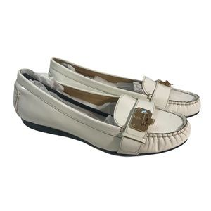 Cole Haan NWOT Nike Air Women's White Loafers